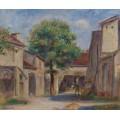 Крестьянское подворье в Эссуа - Ренуар, Пьер Огюст