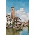 Гондолы в Венеции. 1905 - Кампо, Федерико дель