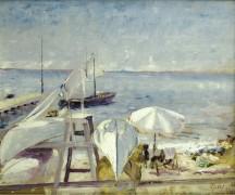 Пляж -  Адрион, Лусьен
