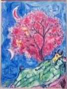 Любовники под красным деревом - Шагал, Марк Захарович