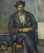 Портрет сидящего крестьянина - Сезанн, Поль