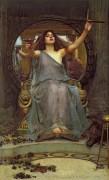 Цирцея дает Одиссею кубок с зельем - Уотерхаус, Джон Уильям