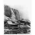 Зима на  Ниагарском водопаде