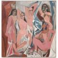 Авиньонские девицы - Пикассо, Пабло