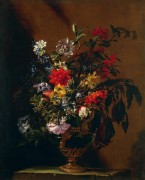 Цветы в вазе - Фиори, Марио