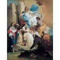 Богородица и шестеро святых - Тьеполо, Джованни Баттиста