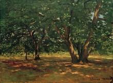 Лес в Фонтенбло - Моне, Клод