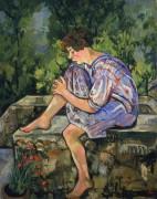 Сидящая молодая женщина - Валадон, Сюзанна