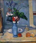 Голубая ваза - Сезанн, Поль