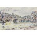 Новый мост, Париж, 1930 - Синьяк, Поль