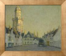 Площадь, Ля Крозик, 1924 - Сиданэ, Анри Эжен Огюстен Ле