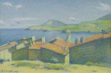 Collioure, 1927 - Ложе,  Ашиль