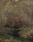Весной в лесу. 1882 - Левитан, Исаак Ильич