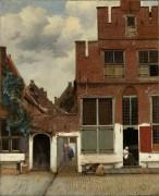 Улица в Делфте - Вермеер, Ян