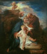 Святое Семейство - Ватто, Жан Антуан