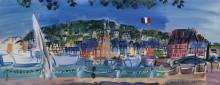 Порт в Довиле - Дюфи, Рауль