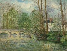 Весенний пейзаж в Лавардене, Луар и Шер, 1907 - Мофра, Максим