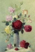 Ваза с розами, 1919 - Ложе,  Ашиль