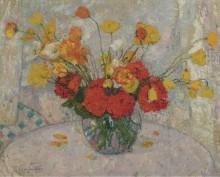 Букет цветов, 1917 -  Смет, Леон Дет