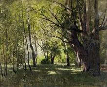 В парке. 1895 - Левитан, Исаак Ильич