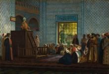 Проповедь в мечети - Жером, Жан-Леон