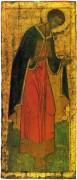 Деисусный чин Троицкого собора Троице-Сергиевой лавры (1425-27) 1. Вмч.Дмитрий Солунский - Рублев, Андрей