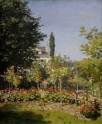 Цветочный сад, Сент-Адресс - Моне, Клод