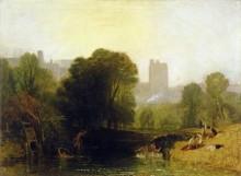 Пейзаж близ Виндзорского замка - Тернер, Джозеф Мэллорд Уильям