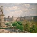 Площадь Карусели, сад Тюильри, 1900 - Писсарро, Камиль