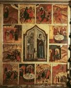 Ветхозаветная Троица с деяниями, ок.1759. 170х140 cм