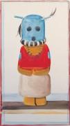Индейская кукла с синей головой - О'Кифф, Джорджия