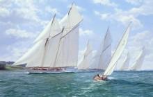 Вестворд лидирует в регате королевского яхт-клуба Эскадра - Дьюз, Джон Стивен