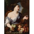 Аллегория лета - Церера с фруктами - Брейгель, Абрахам