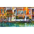 Канал в Венеции - Афремов, Леонид (20 век)