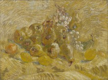 Айва, лимоны, груши и виноград (Quinces, Lemons, Pears and Grapes), 1887 - Гог, Винсент ван