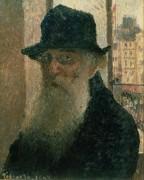 Автопортрет, 1903 - Писсарро, Камиль