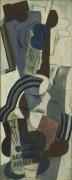 Женщина с гитарой - Пикассо, Пабло
