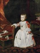 Портрет инфанта Филиппа Просперо - Веласкес, Диего