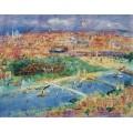 Вид Парижа - Дюфи, Жан