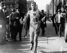 Победитель Бостонского марафона в 1916