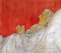 Моя тетя мертвая, 1916 - Энсор, Джеймс