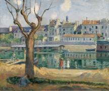 Вид на набережной Пампонн, 1904 - Лебаск, Анри