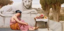 Продавщица фруктов - Годвард, Джон Уильям