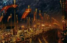 Лондонский мост в ночь бракосочетания принца и принцессы Уэльских - Хант, Уильям Холман
