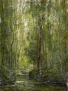 Лесной пейзаж с ручьем - Добиньи, Шарль-Франсуа