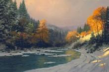 Осенний снег - Кинкейд, Томас