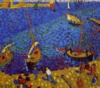 Лодки в Коллиуре - Дерен, Андре