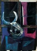Натюрморт с черепом быка, 1942 - Пикассо, Пабло