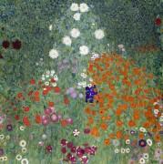 Цветочный сад - Климт, Густав