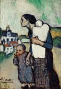 Мать с детьми - Пикассо, Пабло